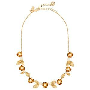 NEW Kate Spade Lavish Blooms Small Necklace